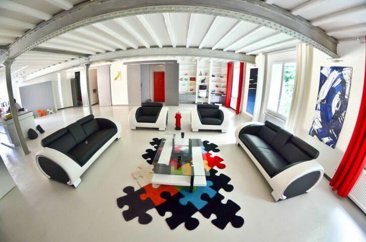 Loft architecte centre ville 224m2 - Lyon - Loft
