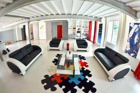 Loft architecte centre ville 224m2 - Lyon