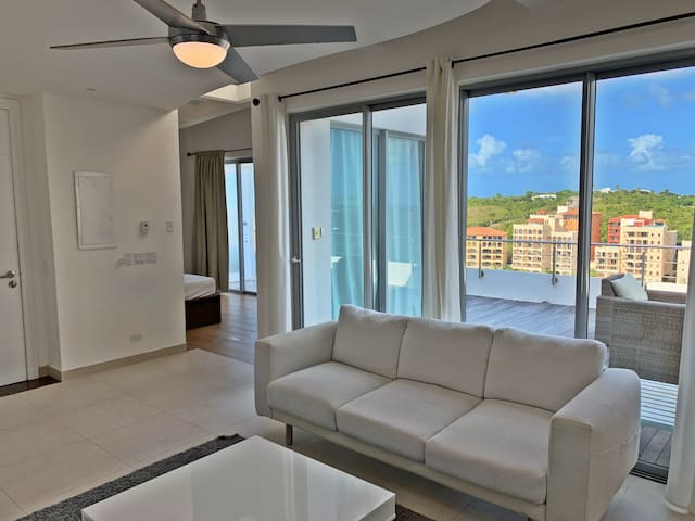 Modern Penthouse w/ Spacious Patio and Jacuzzi