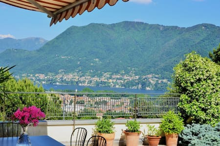 ComoAtHome Lake View Free Parking - Como - Leilighet