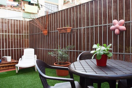 DOWNTOWN APARTMENT WITH TERRACE - Barcelona