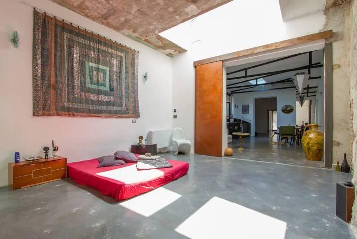 LOFT DESIGN 120 sq.m. + GARDEN 40 sq.m.