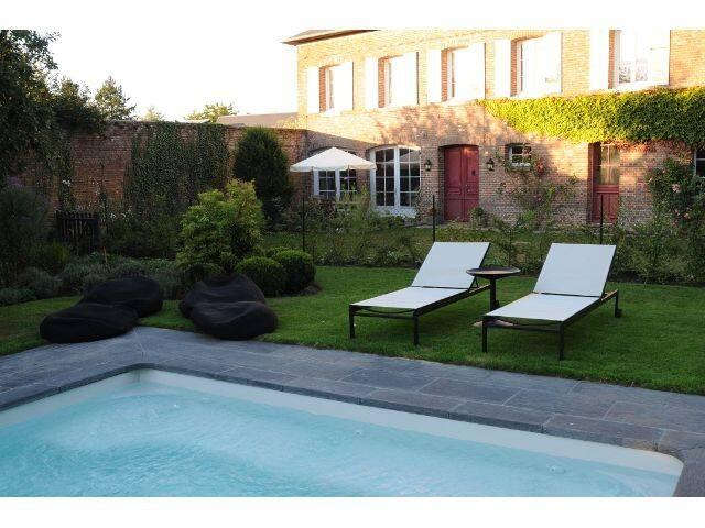 Demeure de charme Le Colombier avec piscine - Le Neubourg