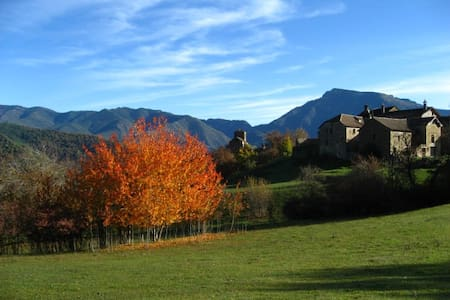 Casa Allue, Ordesa, Pirineos - Albella - Bed & Breakfast