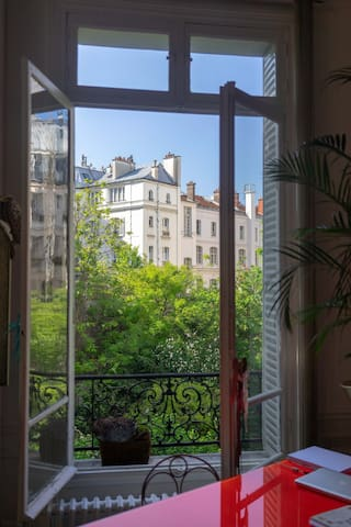 Appartement de charme et calme au coeur de Paris