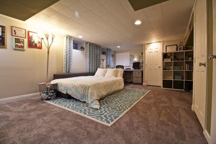Big Bonus Room Near Downtown - Denver - Apto. en complejo residencial