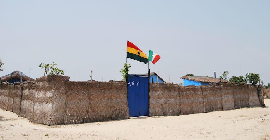 A&Y Wild Camp Ghana - Keta - Hutte