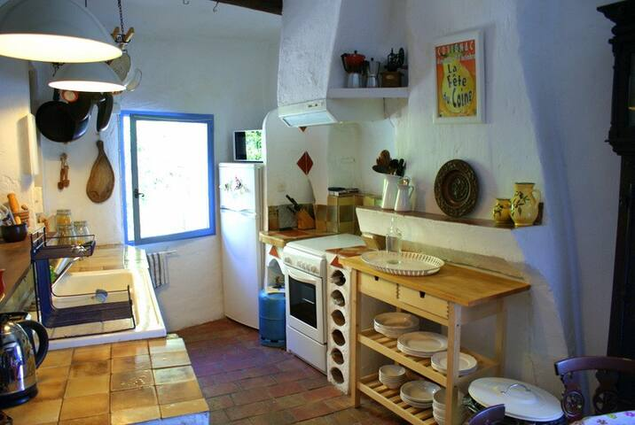 The kitchen with everything you need for home cooking
