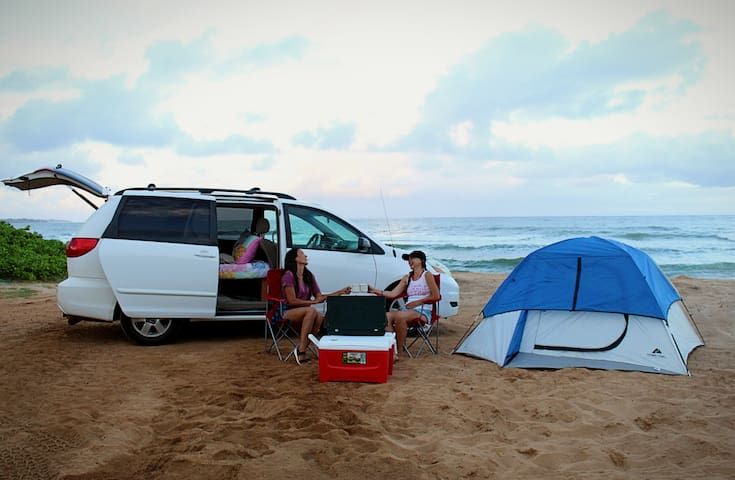 Kauai in a Camper Van