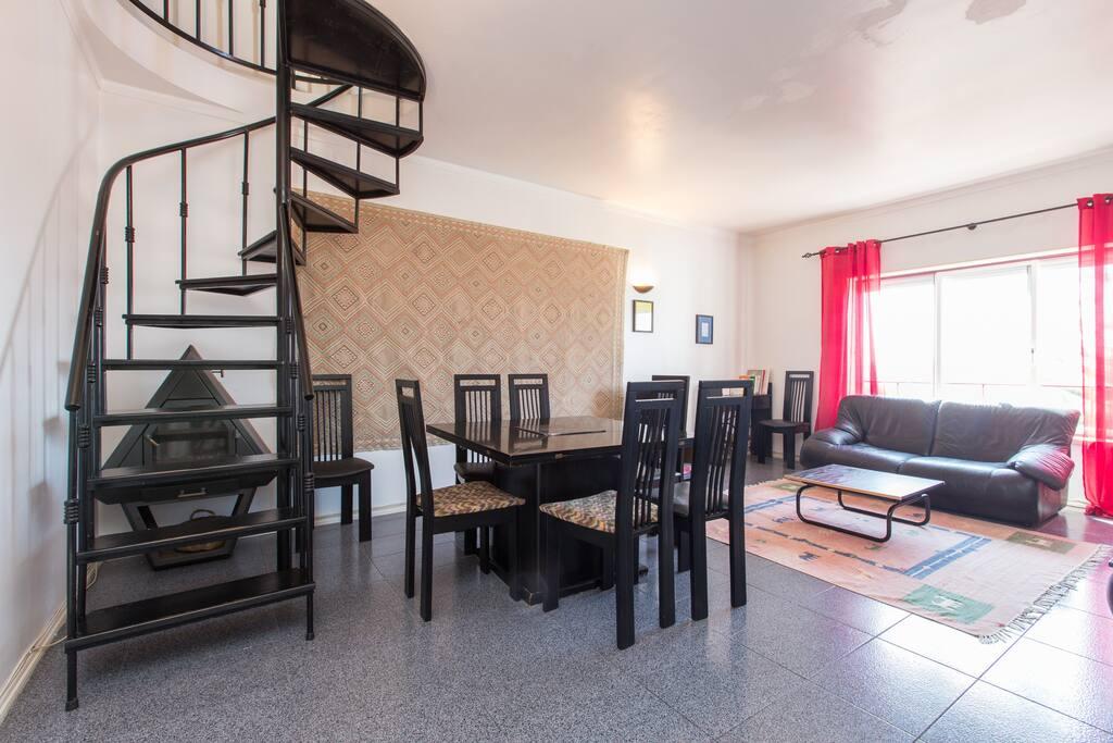 Level 1, living room
