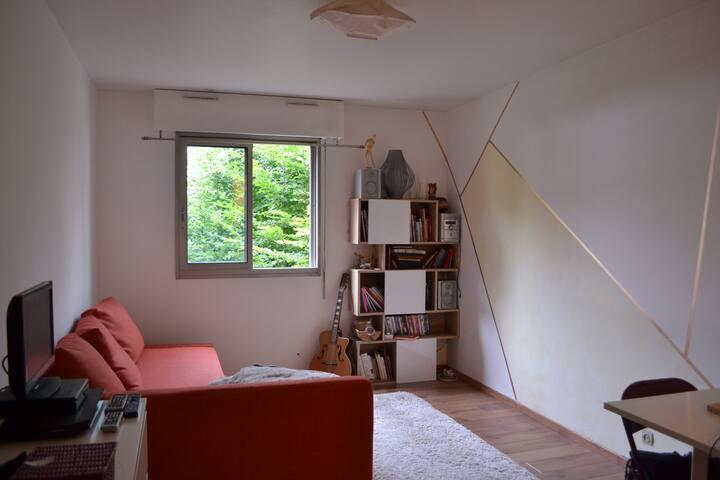 Charmant studio à la Butte-aux-Cailles