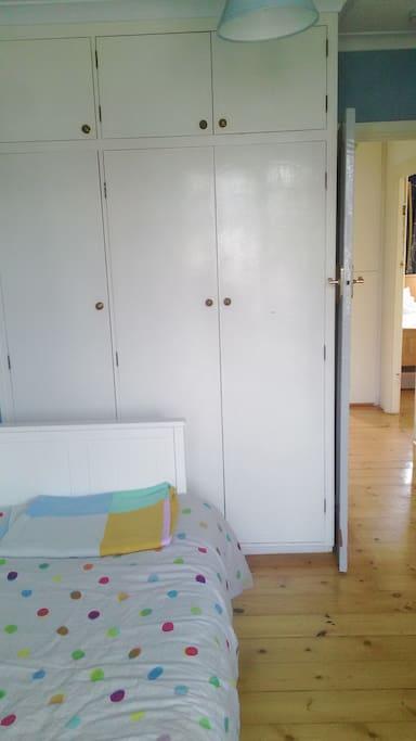 a large wardrobe