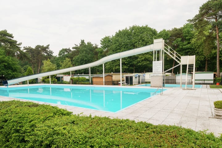 Holiday Home by the forest in Ommen with Pool