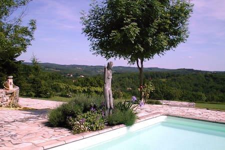 "Maison ""L'orangerie""  / Château d'Uzech - Uzech - Naturhytte"