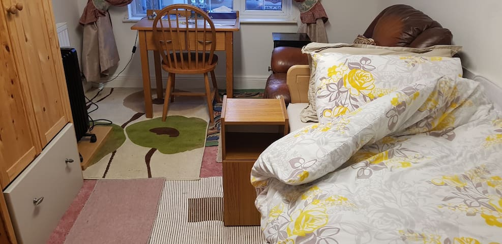 Quiet Double Room Ensuite With Single Bed