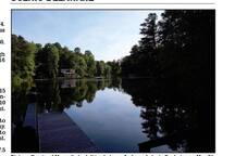 A local guy who was guest of one of our guests took this photo from our dock and submitted it to the Delaware State News.  Its official, we have a lovely site!