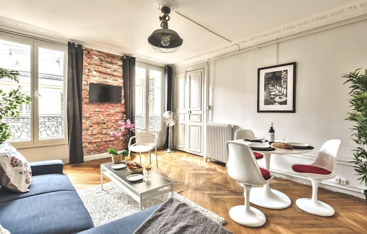 """Opéra/Saint-Lazare"" Spacious family flat (830)"