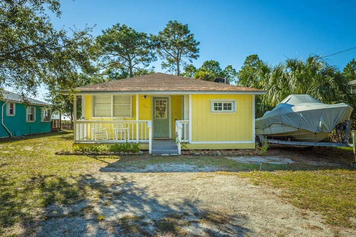 WhimSea Cottage is a charming 3 bedroom, 2 bath beach cottage.