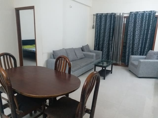2 Bedroom Apartment in central location with AC