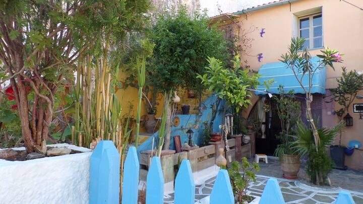 """Xristina 's"":  Folklore,  stone built house"