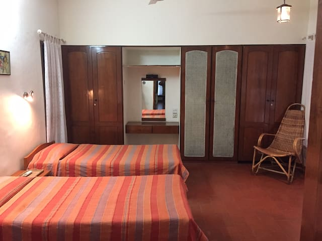 Room at Matchpoint, Kawdiar - Thiruvananthapuram - Huis