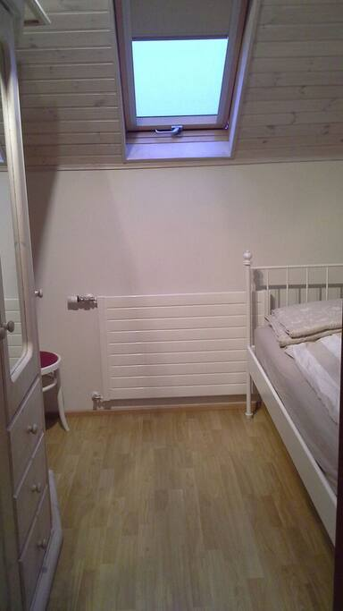 Private bedroom with large dresser draw for your clothes.