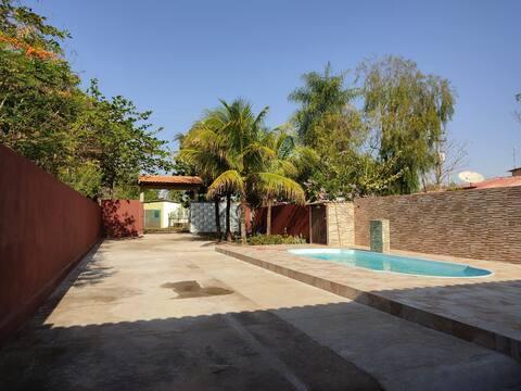 rancho vo João em Epitácio com piscina