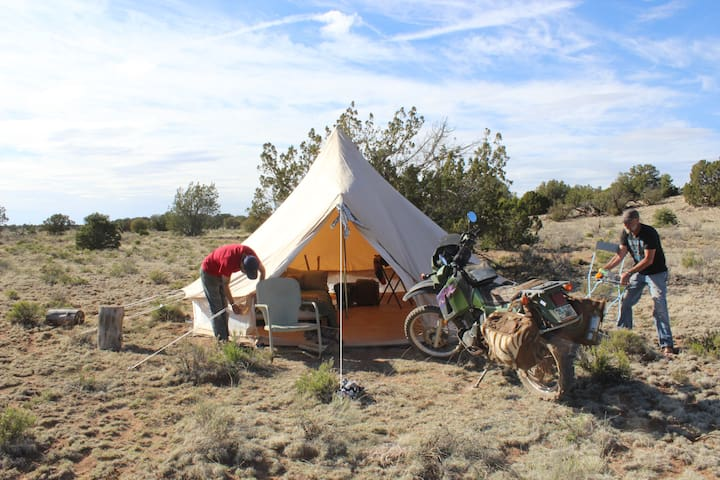 Glamping Tent #3 near Grand Canyon - Williams