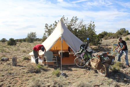 Glamping Tent #3 near Grand Canyon - Williams - Tenda de campanya