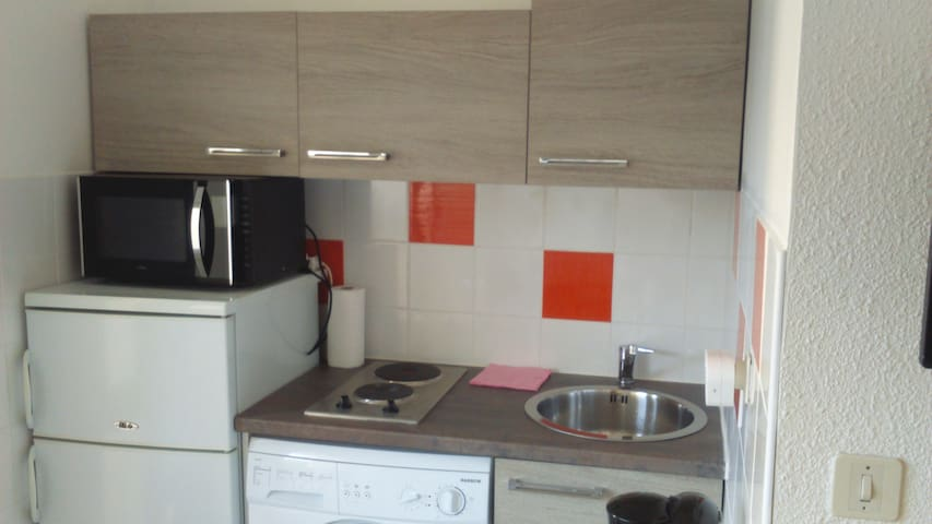 Studio pour cures ou vacances - Balaruc-les-Bains - Apto. en complejo residencial