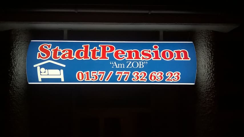 """StadtPension """"Am ZOB"""" - Geesthacht - Daire"""
