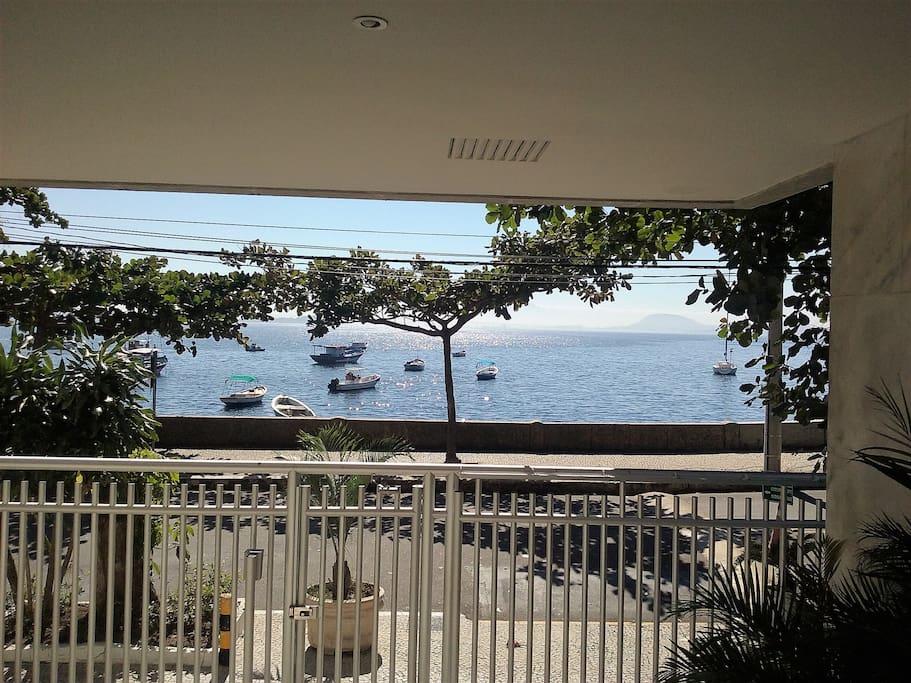 Vista da portaria / View of the concierge