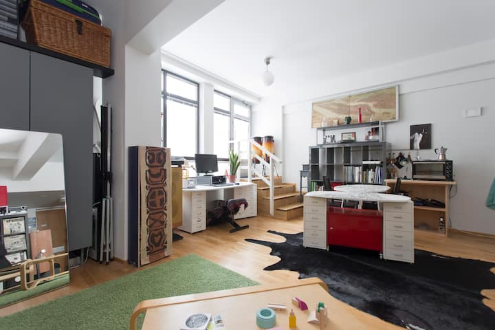 A lovely loft in Kallio