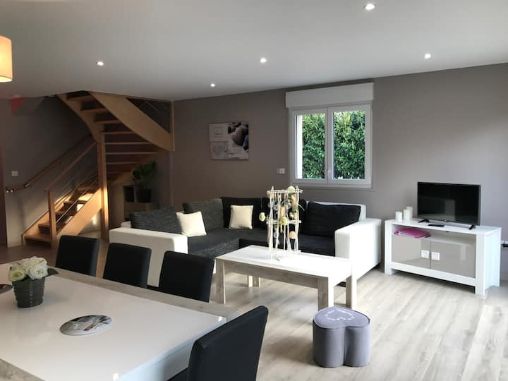 Maison Merlimont PLAGE+SPA*+JARDIN+GARAGE-6/8 pers