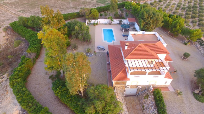 Stunning villa in a very quiet private location