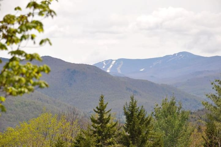 Amazing Views of Killington Mtn - Pittsfield - Rumah