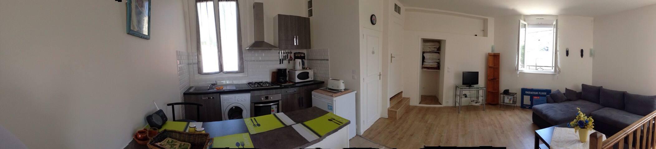 Appartement en duplex refait a neuf