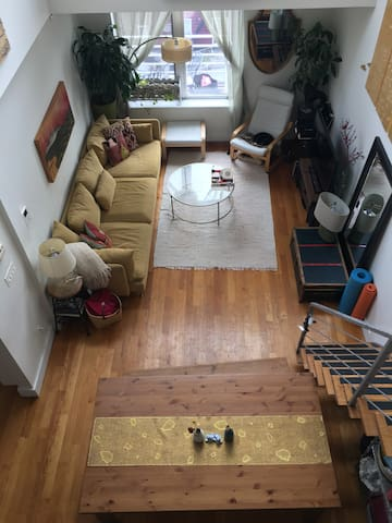 Penthouse duplex huge outdoor areas NYC oasis - Brooklyn - Appartamento