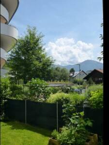Zimmer mit Bergpanorama und Garten - Innsbruck - Apartment