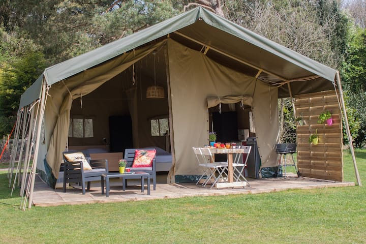 Glamping Safaritent Veluwe, ideaal voor kids!