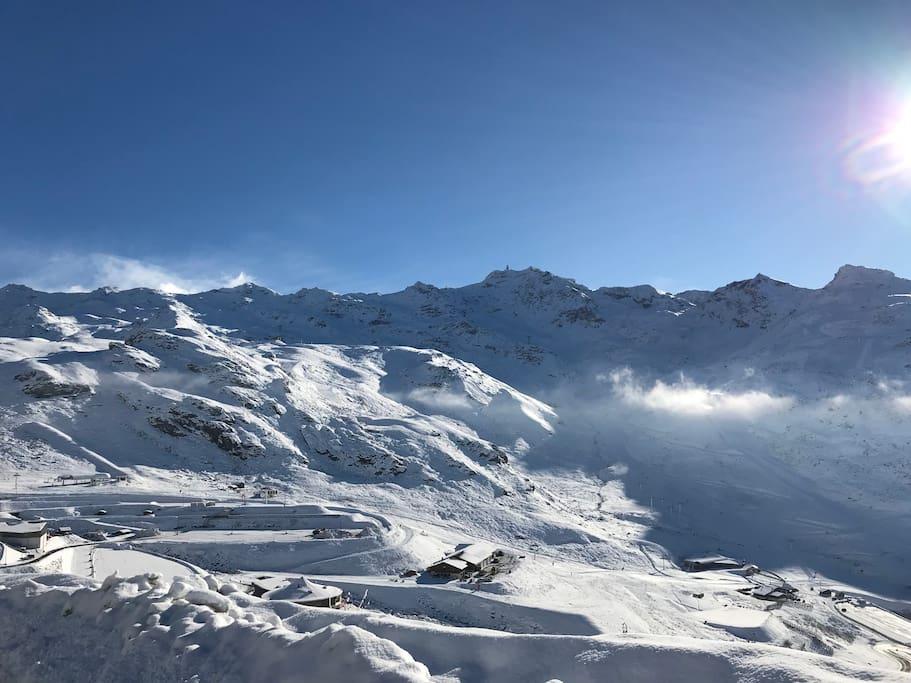 Le plus grand domaine skiable au monde avec un bon enneigement tout l'hiver
