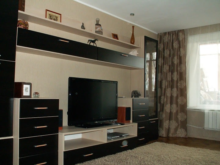 It's a cozy 1 bedroom condo 30m2 pl