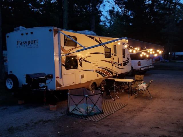 Josh & Tiffany's Camper