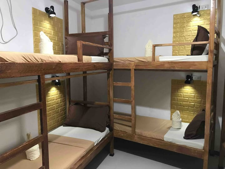 8 person shared (Price per bed)