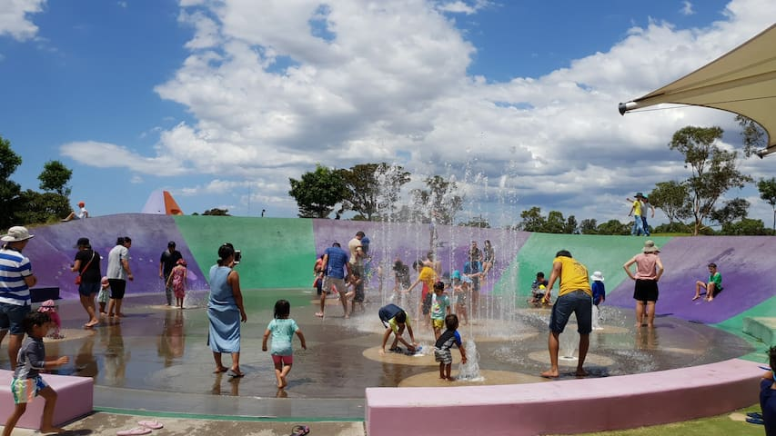 Blaxland riverside park! Bring your family here on the weekends to enjoy the serene views and play in the water!