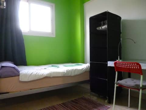 Cozy Bright Private  Room in Heliopolis