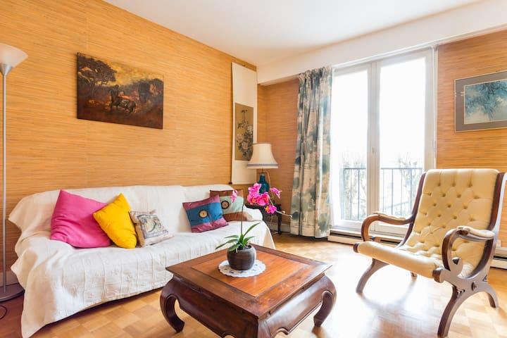 Appartement au centre de Versailles avec parking