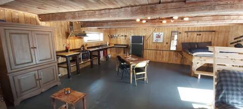 La Grange Backcountry Charlevoix  loft-rustique
