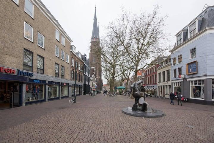 Apartment perfect location center of Delft! II