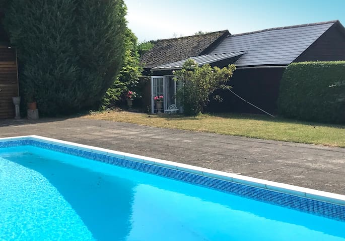 Studio view from swimming pool